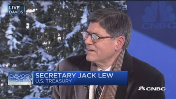 Sec. Lew: China can have a soft landing if...