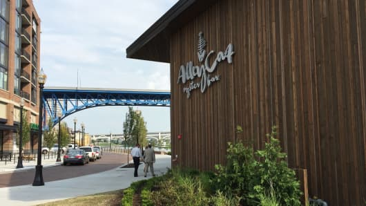 Chef Bruell's Alley Cat restaurant opened last summer in Cleveland