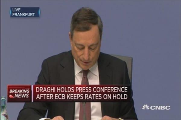 Our measures are working: ECB's Draghi