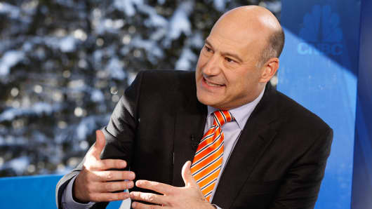 Gary Cohn, Goldman Sachs president and COO at the 2016 World Economic Forum in Davos.