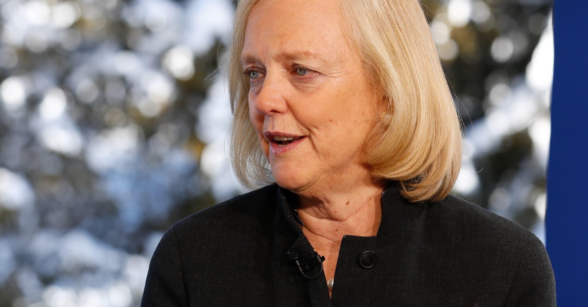 Meg Whitman Steps Down from HP Board