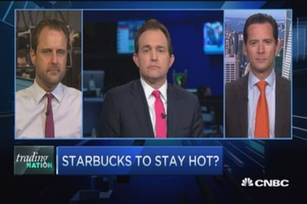 Two pros expect Starbucks bounce