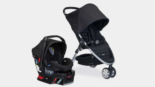 Britax B-Agile/B-Safe 35 and B-Safe 35 Elite Travel Systems Recall
