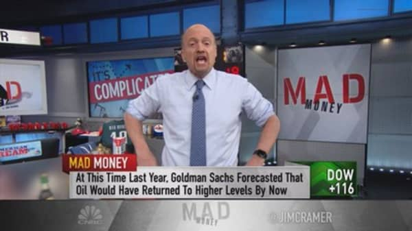 Cramer: Oil could go to $10