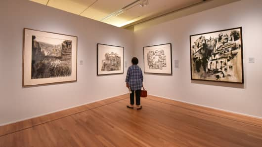 'Chua Ek Kay: After the Rain' special exhibition at the National Gallery Singapore.