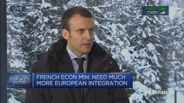 Refugee crisis is challenge for all of Europe: Macron