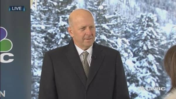 We will see more volatility: David Solomon