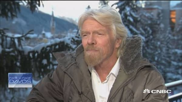 Bubbles in Silicon Valley: Branson