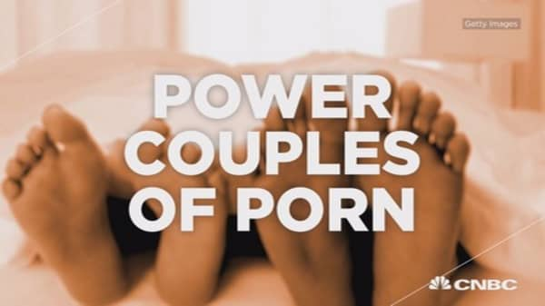 Power couples of porn