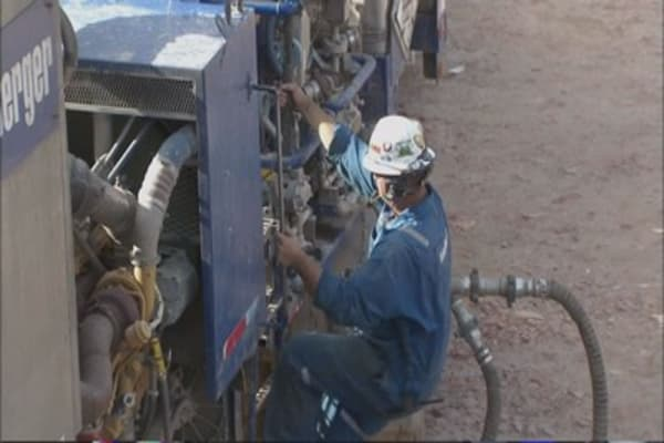 Schlumberger sees unexpected cancellations