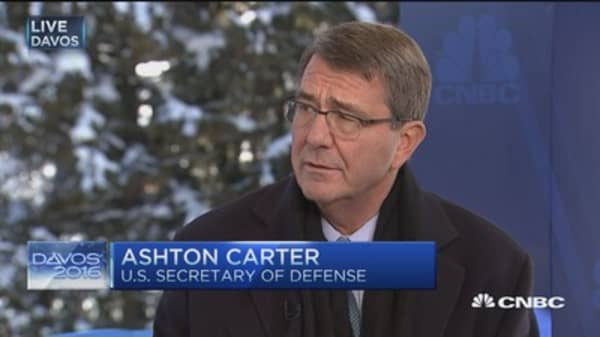 Sec. Carter: There will be boots on the ground