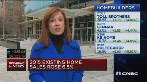 Existing home sales jump