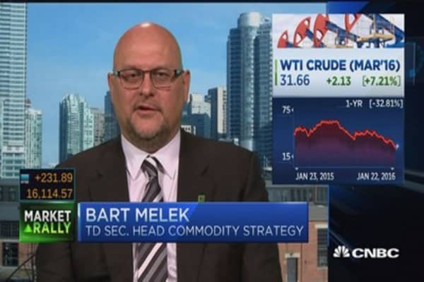 Oil prices could double this year: Strategist