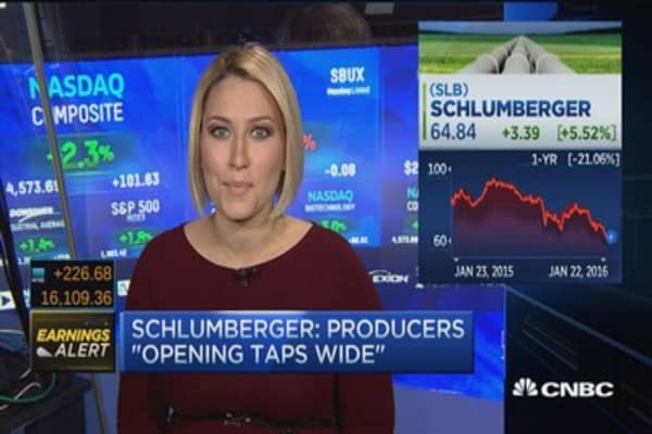 Schlumberger addresses oil market challenges