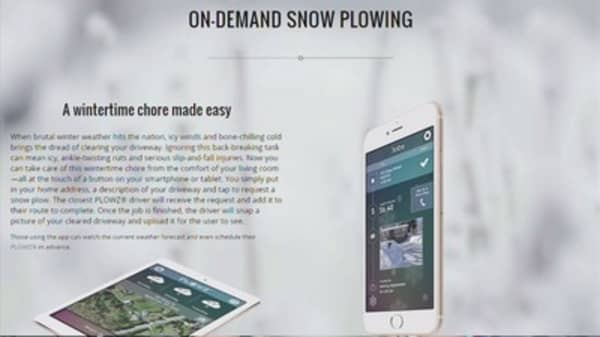 Plowz & Mowz: The Uber of snowplowing