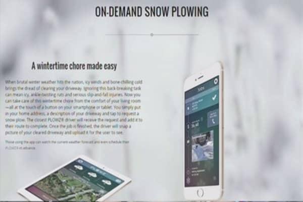 Plowz & Mowz: The Uber of snowplowing