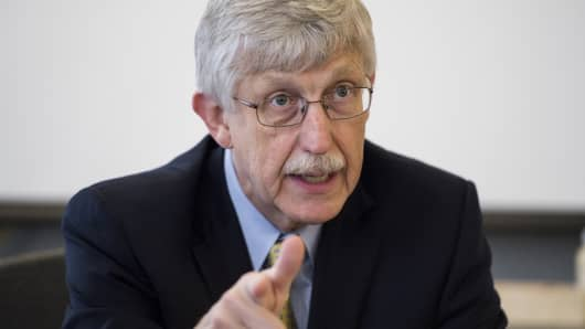 Francis Collins, the director of the National Institutes of Health