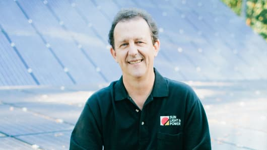 Gary Gerber is president and chief executive of Sun Light & Power, a design/build solar installation company based in Berkeley, Calif.