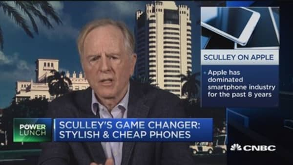 Sculley: Apple building brand in developing countries