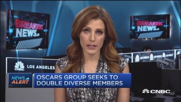Academy pledges to increase Oscars diversity