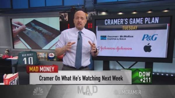Cramer game plan: It's earnings Super Bowl kickoff
