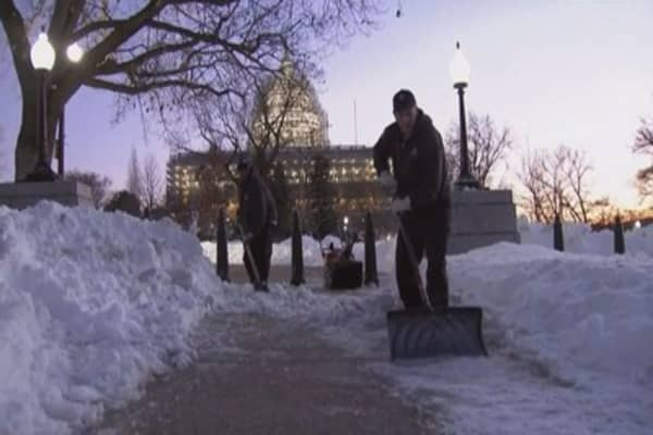 East Coast digs out from historic blizzard