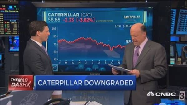 Cramer's Mad Dash: Caterpillar