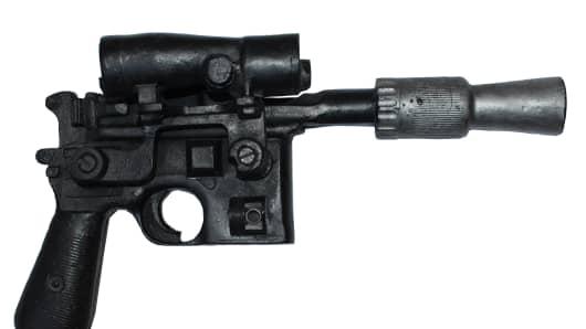 Luke Skywalker's DL-44 blaster