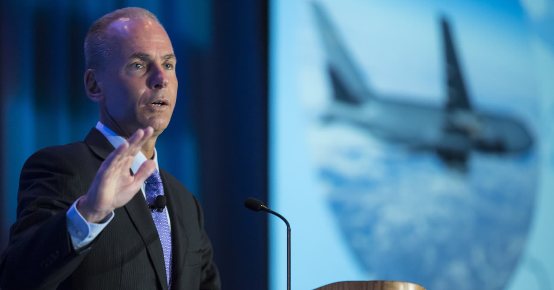 Boeing CEO says it's completed 96 test flights with 737 Max software fix