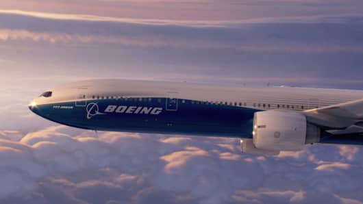 777 Boeing Airplane