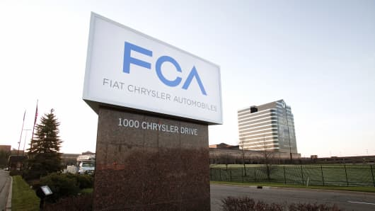 Fiat Chrysler Automobiles, Chrysler Group headquarters