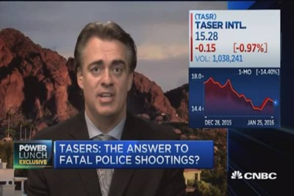 Taser CEO: Opportunities beyond body cameras