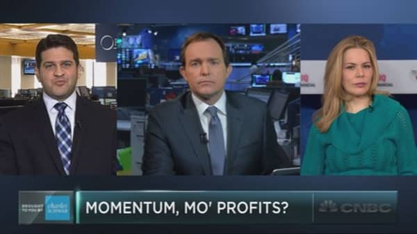 Momentum, mo' profits?