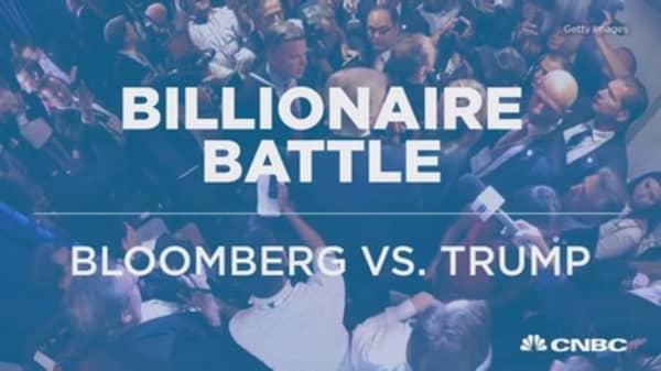 Billionaire battle: Bloomberg vs. Trump