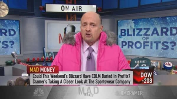 Cramer: Let it snow! Best way to play the blizzard