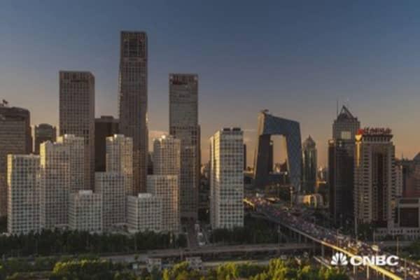 China markets suffer heavy losses