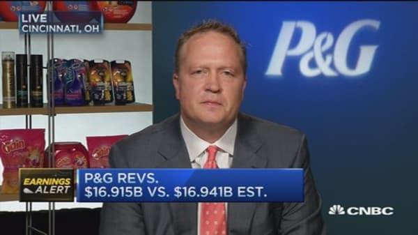 Inside P&G's earnings: CFO