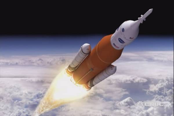 Boeing builds world's most powerful rocket