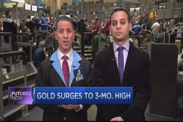 Buy into the gold breakout: Traders