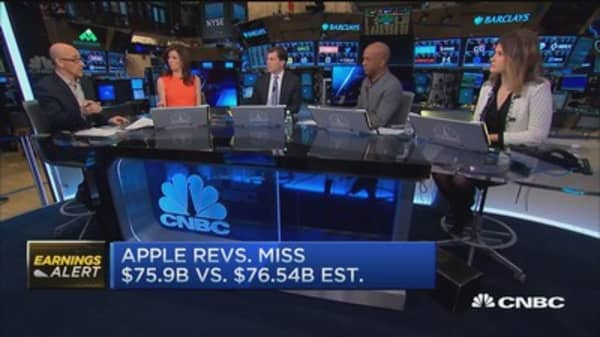 Despite earnings beat, did Apple really disappoint?