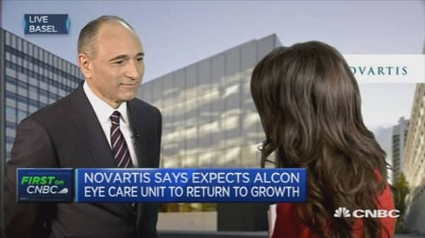 Novartis reports quarterly profits
