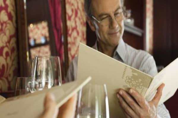 Restaurant menu money makers