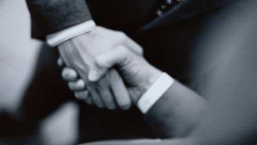 handshake merger and acquisitions