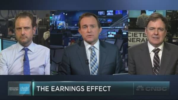 Goldman on how to trade earnings