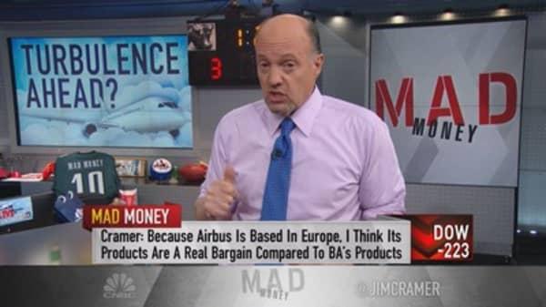 Cramer: Has aerospace peaked? Or is it Boeing...