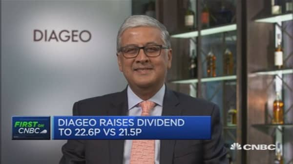 Momentum will improve: Diageo CEO