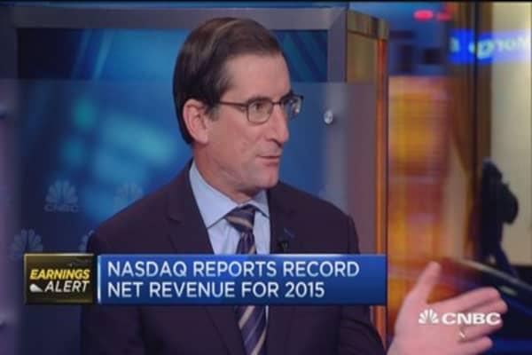 Inside Nasdaq's earnings: CEO