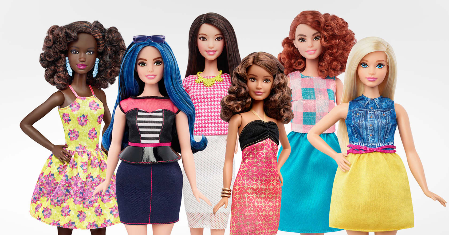 Barbie Gets Real With Latest Makeover New Body Types