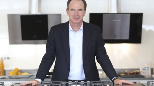 Keith McLoughlin, chief executive officer of Electrolux.
