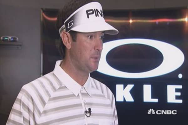 What gets Bubba Watson out of bed